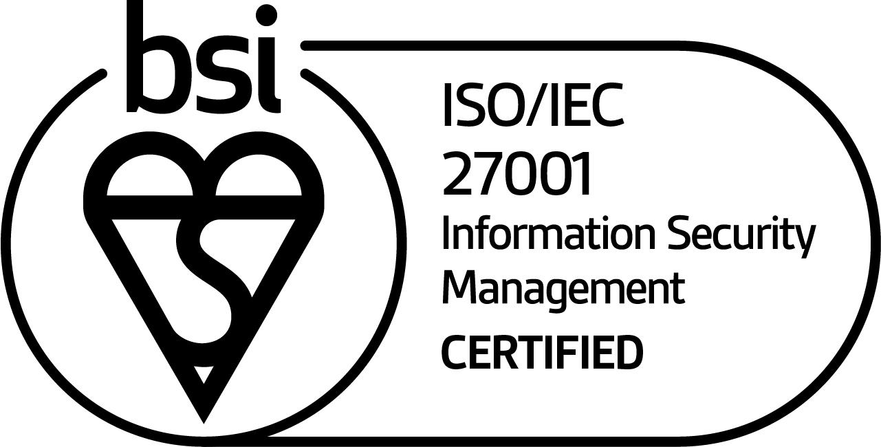 ISOIEC 27001 white logo